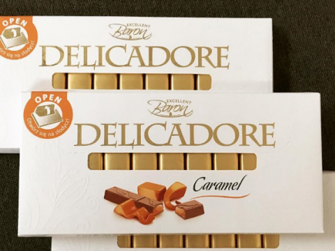 Baron Delicadore čokolada sa karamelom - razlog za lepo raspoloženje