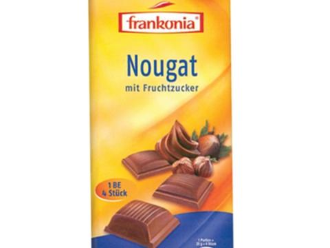 Frankonia Nougat čoklada - uživaj i ostani vitka!