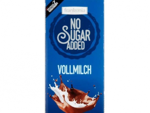 Frankonia No Sugar Added Vollmilch 80g