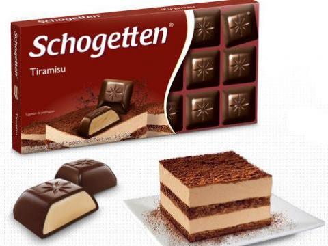 Schogetten čokolada tiramisu - duplo uživanje