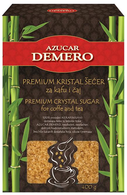 NOVO! Azucar Demero prirodni kristal šećer