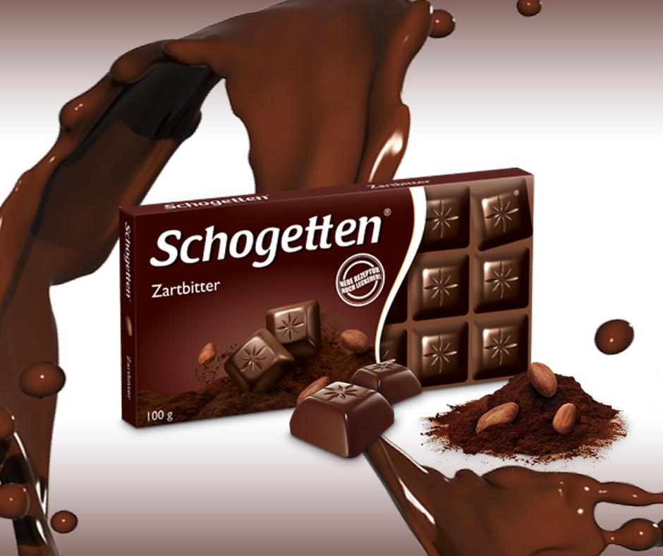 Schogetten tamna čokolada - svi srećni i zadovoljni