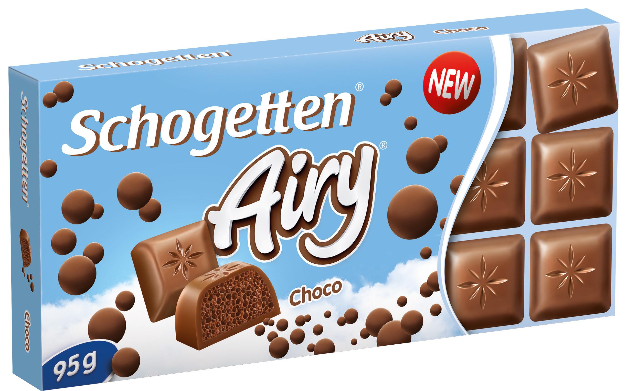 Schogetten mlečna vazdušasta 95g