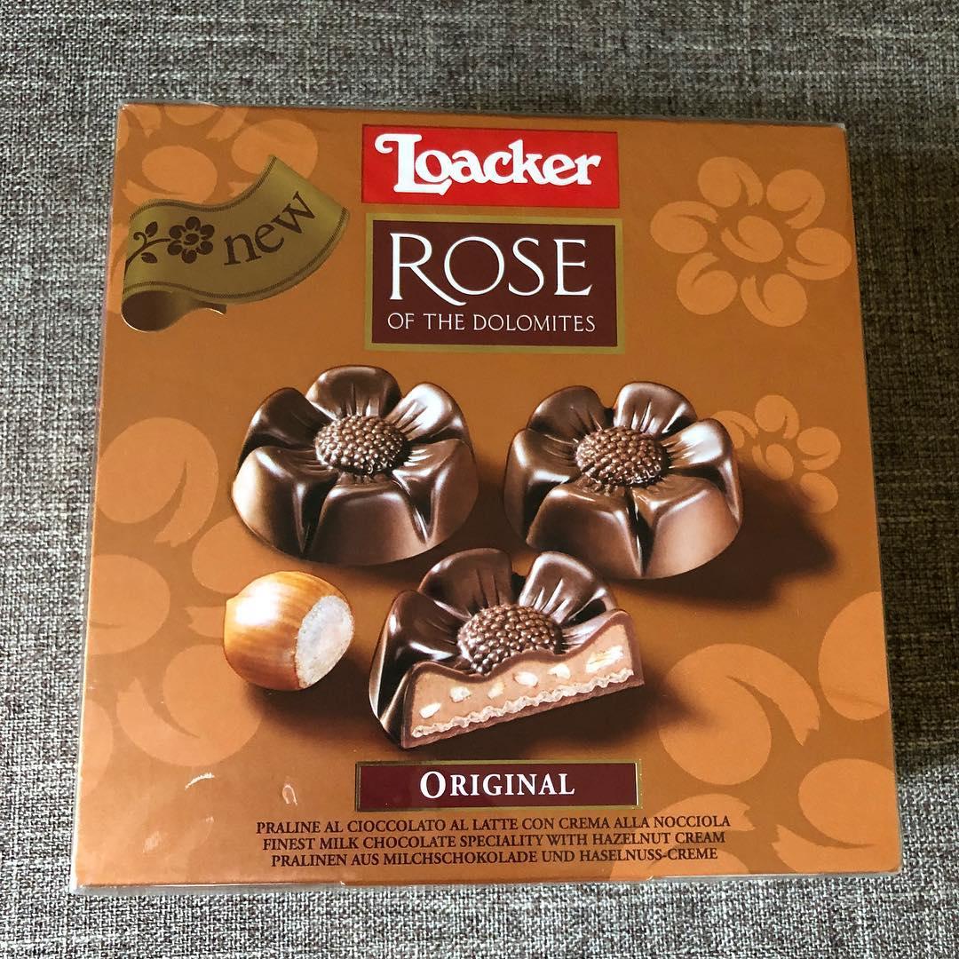 Loacker bombonjera Rose of the Dolomites - najslađi znak pažnje
