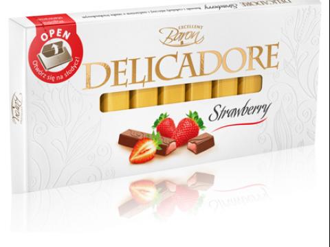 Baron Delicadore čokolada sa jagodom - elegantna i savršeno ukusna