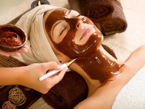 Maska za lice sa čokoladom
