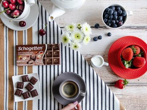 Schogetten tamna čokolada sa kakao i lešnik kremom - dar koji nas zbližava