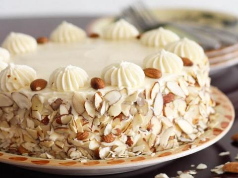 Brza čoko-badem tortica