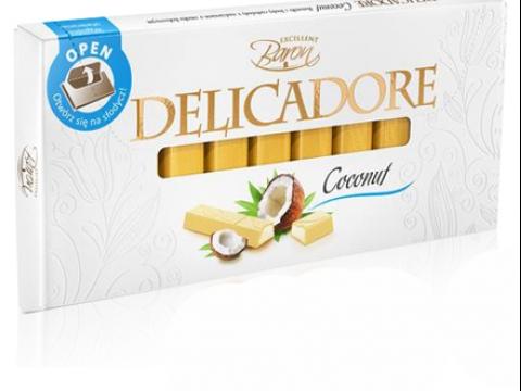 Baron Delicadore čokolada sa kokosom - tropski ukus kada god poželite