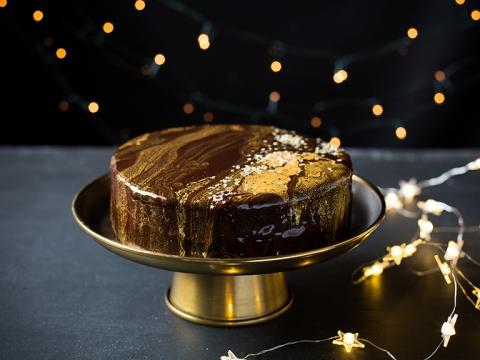 Božićna liker torta