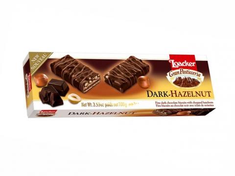 Loacker Gran Pasticceria - tamna čokolada i lešnik - zavodljiva kombinacija prirode