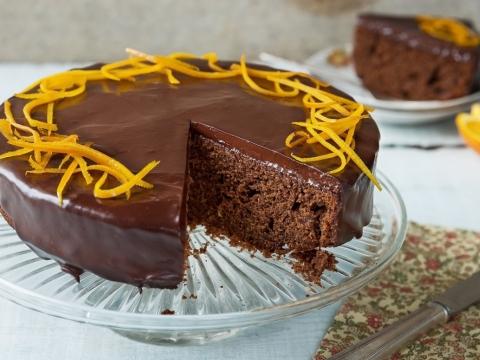 Čokoladna torta s pomorandžama