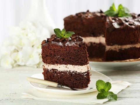 Jednostavna čokoladna tortica sa kafom