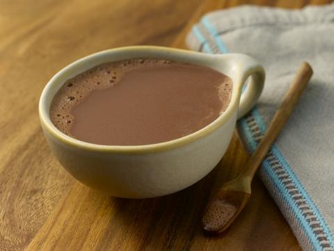 Čokoladni napitak sa đumbirom