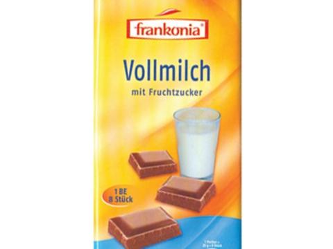 Frankonia mlečna čokolada - za ljubitelje klasičnih ukusa