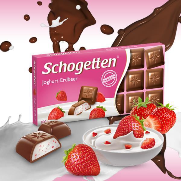Schogetten čokolada jagoda i jogurt-najslađi ukus leta na Vašem stolu