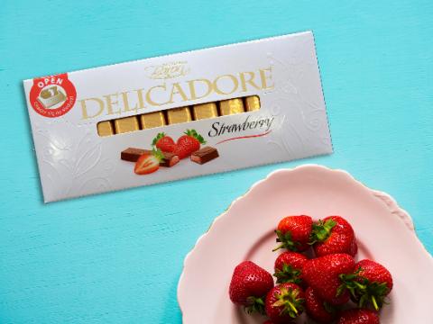 Baron Delicadore čokolada sa jagodom-idealna za raspoloženje