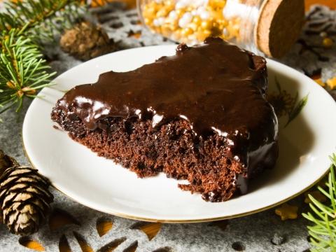 Čokoladni božićni kolač