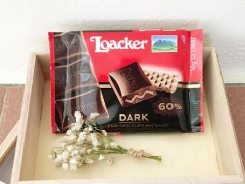 Loacker čokolada Dark Noir za bolju memoriju