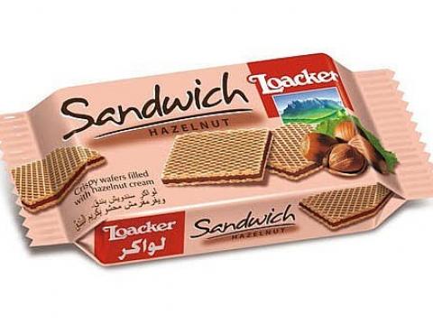 Loacker Sandwich lešnik
