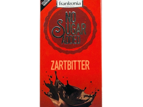 Frankonia No Sugar Added Zartbitter 80g