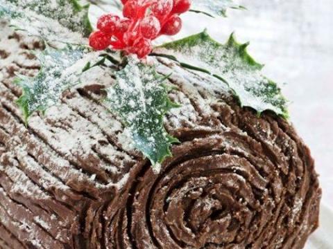 Čokoladni klasik – Božićni panj