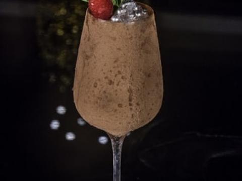 Čokoladni koktel sa Frankonia tamnom čokoladom