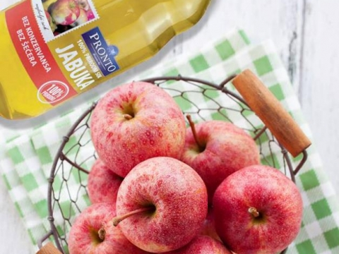 Pronto sok od jabuke - rajska voćka za vrele dane