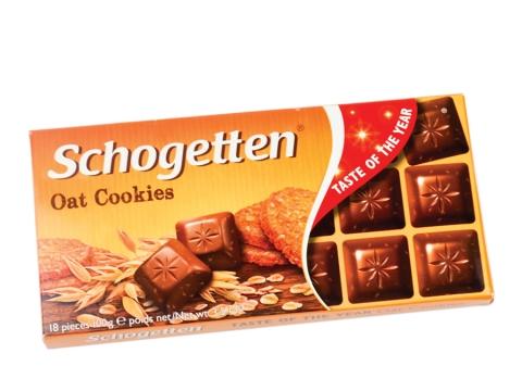 Schogetten ovseni kolač 100g ukus godine 2019