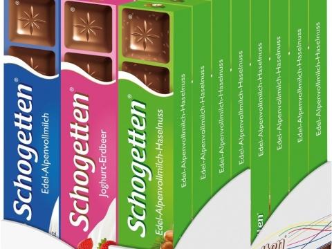 Schogetten mini čokolade 33gr