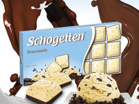 Schogetten čokolada Straćatela-savršen spoj dva omiljena slatkiša