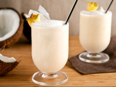 Tropski smoothie s kokosovim mlekom