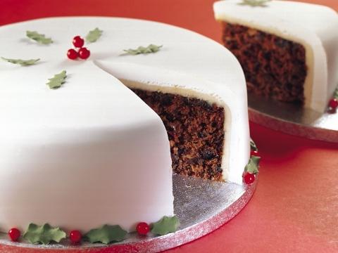 Božićna torta sa suvim voćem