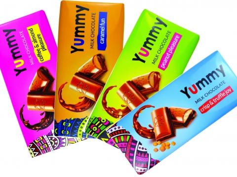 Baron Yummy čokolada kafa-badem, karamel, kikiriki, trufle i krispi 275g