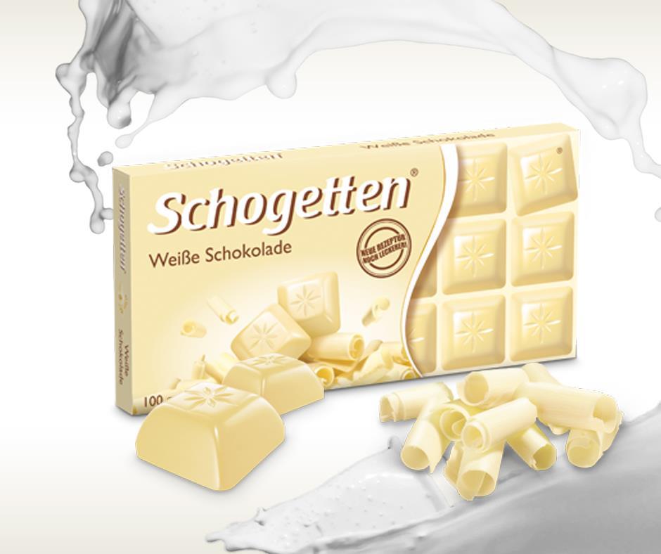 Schogetten bela čokolada - čist hedonizam