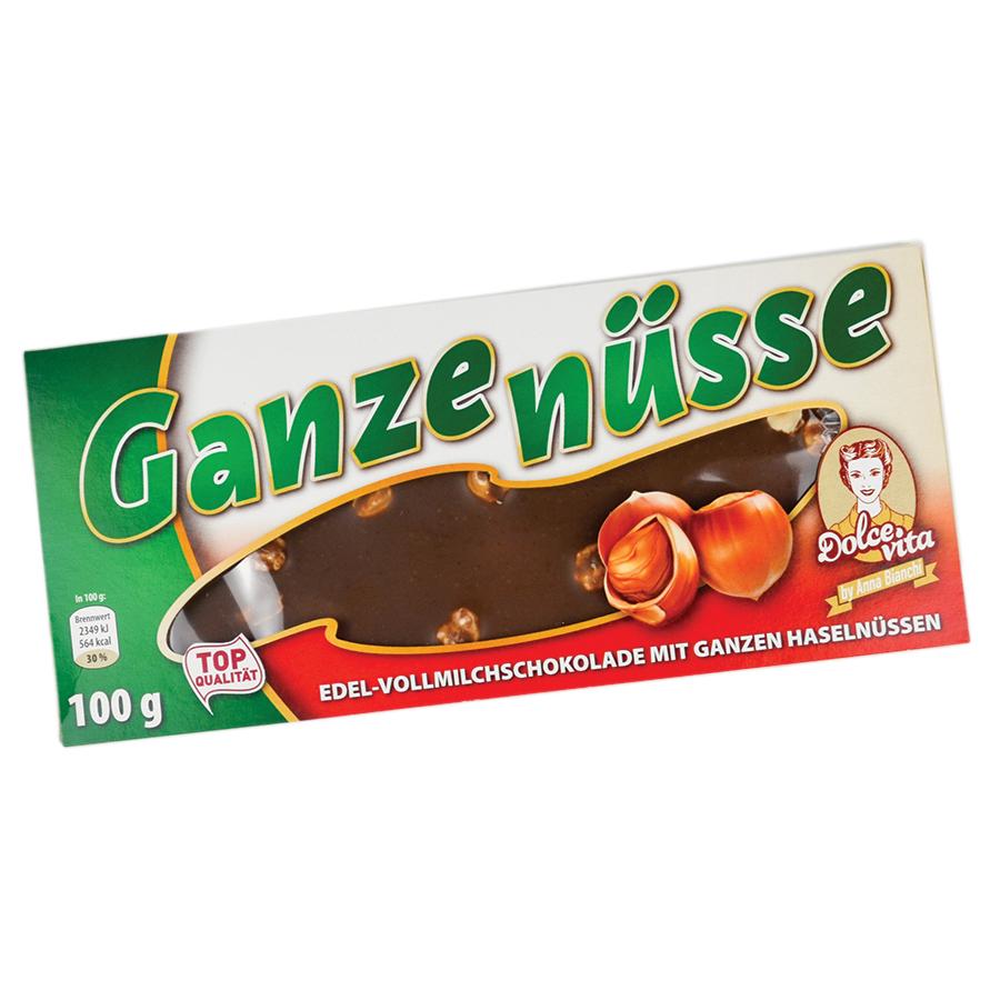 Dolce Vita Ganze Nuss mlečna čokolada 100g