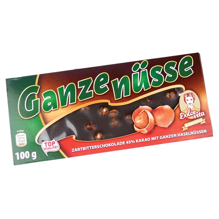 Dolce Vita Ganze Nuss tamna čokolada 100g