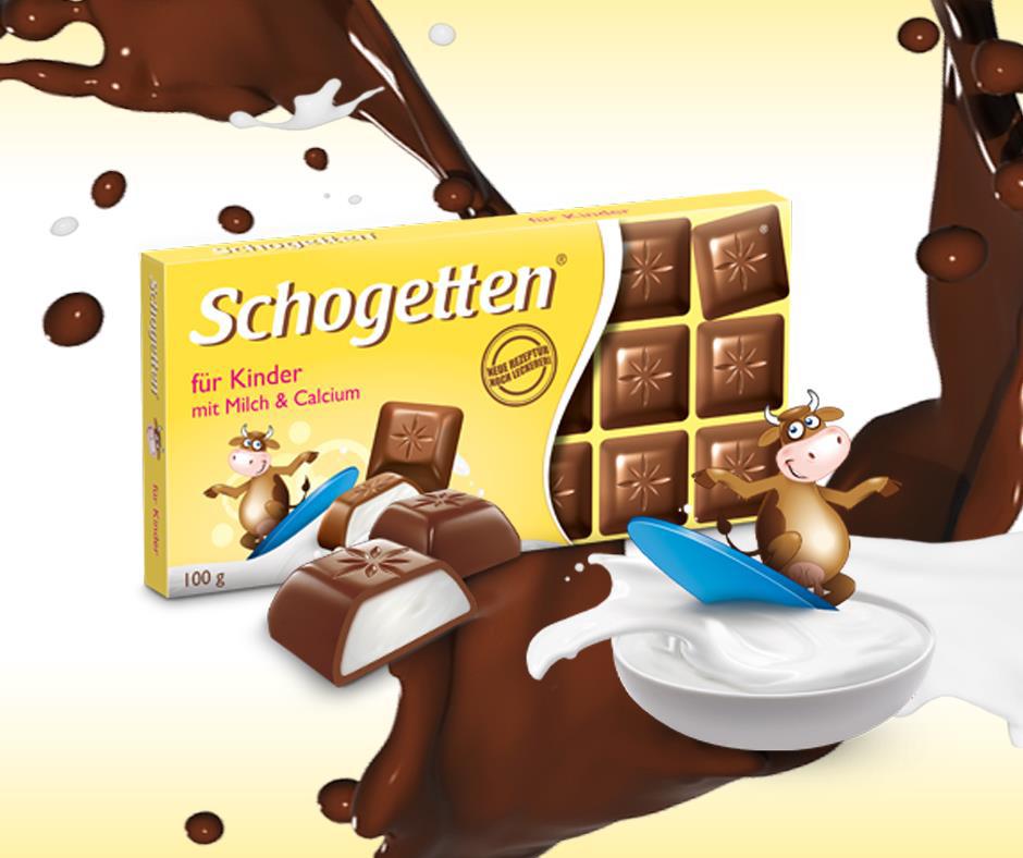 Schogetten dečija čokolada – ono o čemu svaki mališan sanja