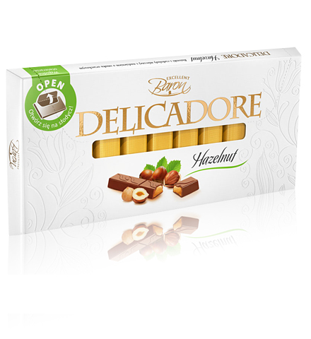 Baron Delicadore čokolada sa lešnikom - Vaša slatka čežnja