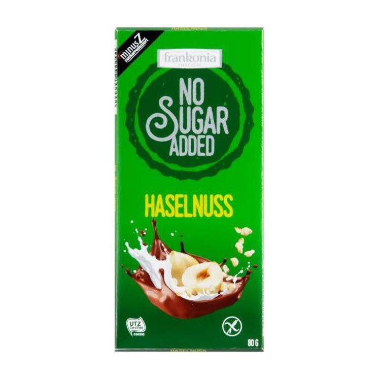 Frankonia No Sugar Added Haselnuss 80g