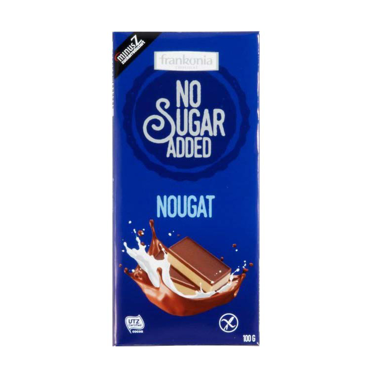 Frankonia No Sugar Added Nougat 80g