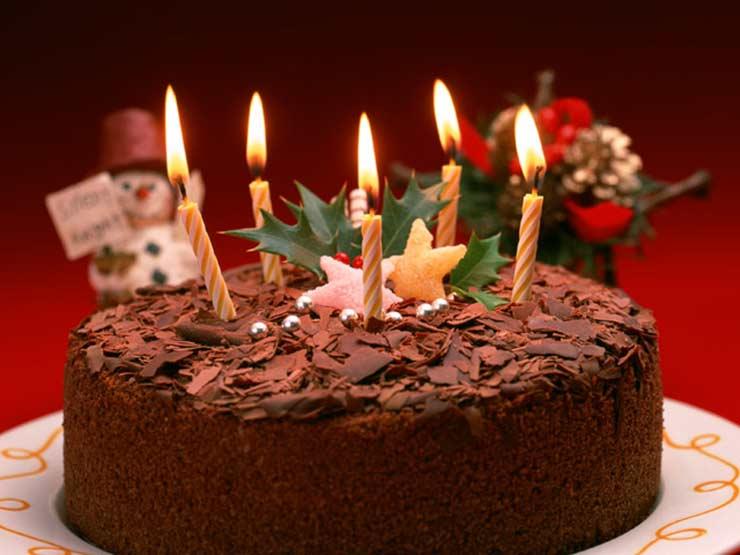 Čokoladna novogodišnja torta