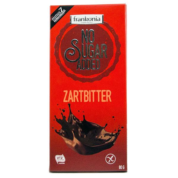 Frankonia No Sugar Added Zartbitter 80g