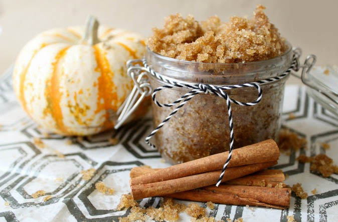 Piling od smeđeg šećera, bundeve i cimeta