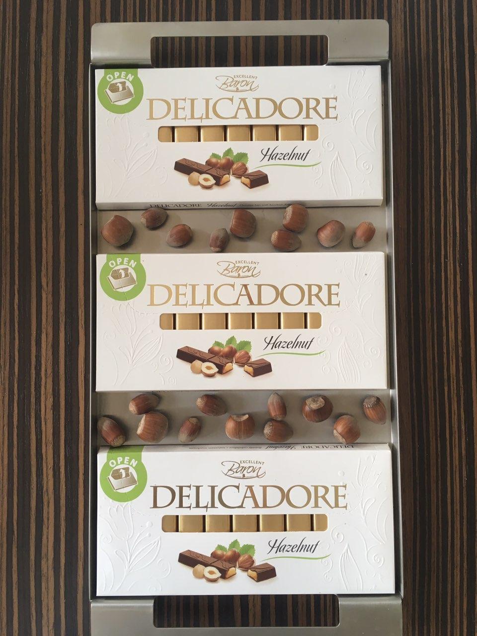 Baron Delicadore čokolada u borbi protiv stresa