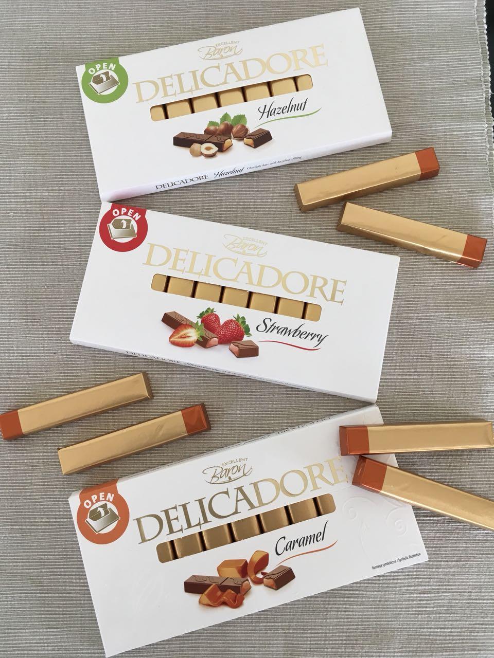 Baron Delicadore čokolade –razlog za raspoloženje